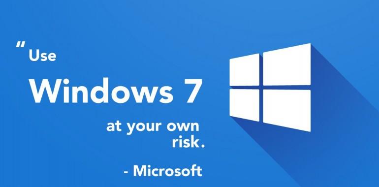 "Microsoft's Latest Trick – ""Use Windows 10 Because Windows 7 Has Serious Problems"""